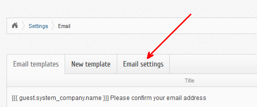 BoxBilling Email Settings