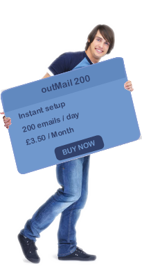 send email from anywhere and any location with OutMail 200